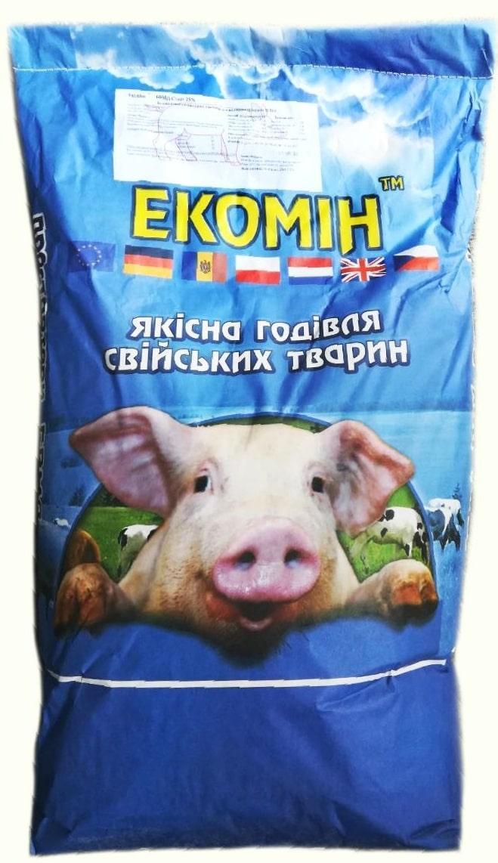 ЕкоМін БМВД відгодівля 15-10% для свиней 30-120кг