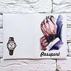 Обложка для паспорта Часы, фото 3