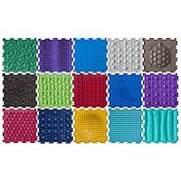 Ортопедический коврик пазл для детей Ортодон массажный комплект из 15 пазлов комплектация №2