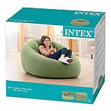 ✅Надувное кресло Intex 68576, 124 х 119 х 76 см, фото 3