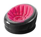 ✅Надувне крісло Intex 68582, 112 х 109 х 69 см, три кольори, фото 2