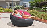 ✅Надувне крісло Intex 68582, 112 х 109 х 69 см, три кольори, фото 3