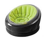 ✅Надувне крісло Intex 68582, 112 х 109 х 69 см, три кольори, фото 6
