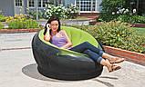 ✅Надувне крісло Intex 68582, 112 х 109 х 69 см, три кольори, фото 7