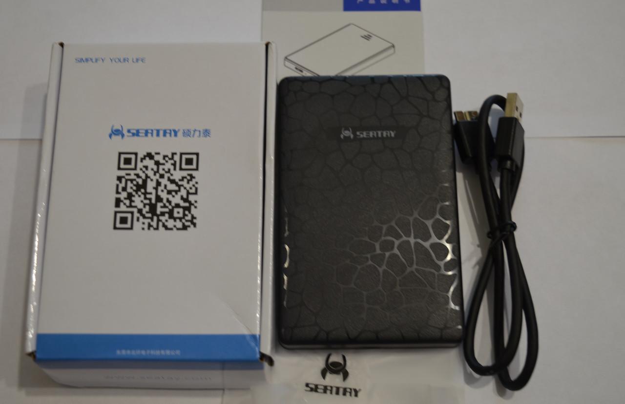 Кармандля жесткого диска SEATAY Hard Drive Enclosurefor 2.5 inch*для подключенияHDD 2,5 SATA/SSD к USB 3.0