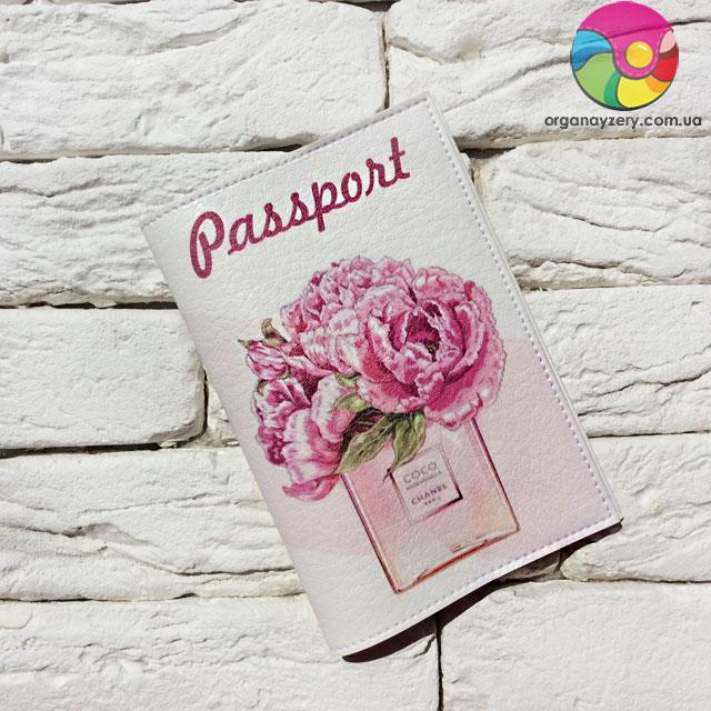 Обкладинка для паспорта Коко Шанель