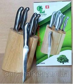 GL - 0052-1 Ножі на підставці (набір 6 шт)