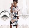 Жіноче міді сукню. Арт.(01370)