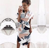 Женское миди платье. Арт.(01370)