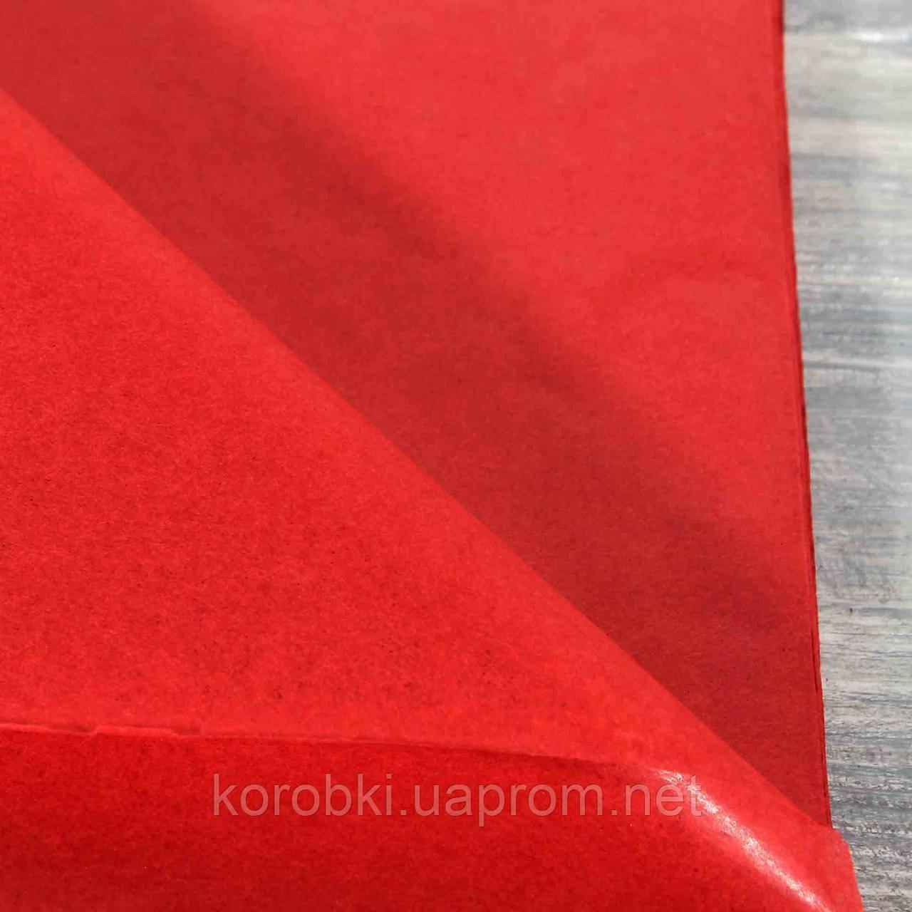 Тишью 99-01 КРАСНЫЙ (51*70 см, 100 листов)