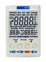Монитор микроклимата, анализатор ST-502 влажности, температуры и содержания СО2