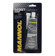 Сірий силіконовий герметик MANNOL 9913 Gasket Maker Gray