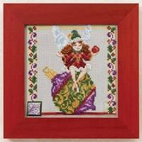 "Набор для вышивки бисером""Ornament Fairy//Фея украшений"" Mill Hill JS301103"