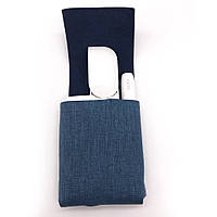 Оригинальный Чехол для IQOS 2.4 / TPU / имитация джинсовой ткани, фото 1