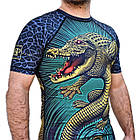 Рашгард с коротким рукавом Break Point Gator, фото 7