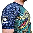 Рашгард с коротким рукавом Break Point Gator, фото 6