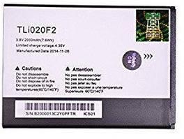 Аккумулятор батарея Alcatel TLi020 One Touch Fierce 2 7040T / Glory 2 / Inspire 2 оригинал
