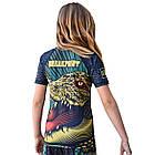 Рашгард детский с коротким рукавом Break Point Gator, фото 2