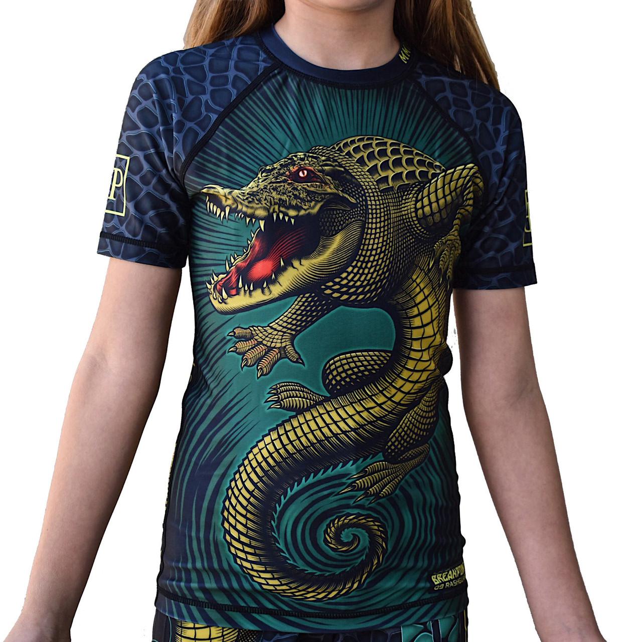 Рашгард детский с коротким рукавом Break Point Gator
