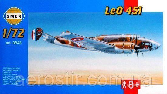 Leo 451 1/72 Smer 0843
