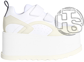 Женские кроссовки Stella McCartney Eclypse Platform Sneakers Triple White 558855W1G949087