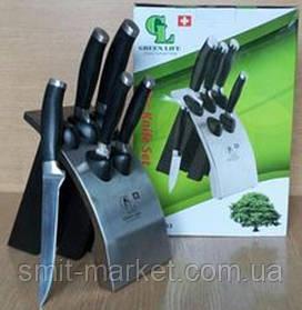 GL - 0453 -1 Ножі на металевій підставці (набір 6 шт)