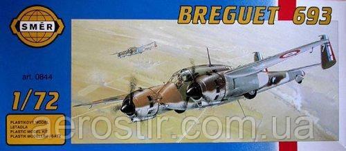 Breguet 693 1/72  Smer 0844