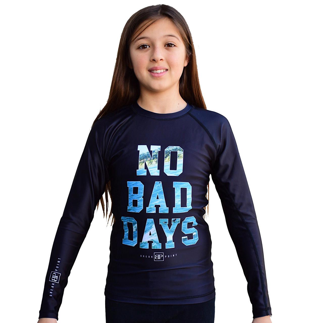 Рашгард детский с длинным рукавом Break Point NO BAD DAYS