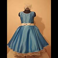 Детское нарядное платье в стиле ретро на выпускной