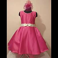 Детское нарядное платье в стиле ретро