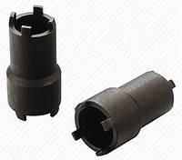 Ключ для откручивания стопорной шлицевой гайки на 4 уса (двухсторонний 1х26мм, 1х30мм) BM-01021 BaumAuto