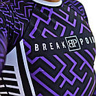 Рашгард с длинным рукавом Break Point Chaos Purple, фото 4