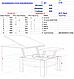 Механізм журнально обіднього стола трансформера Сігма/Механизм для стола трансформера Сигма, фото 2