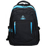 Рюкзак для ноутбука Enrico Benetti SEVILLA/Black-Sky Blue Eb62027 914, фото 2
