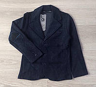 Пиджак для мальчика от 110 до 128 см рост.