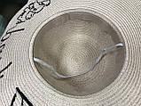Шляпка из рисовой соломки Тайланд  цвет  пудра и молочный, фото 4