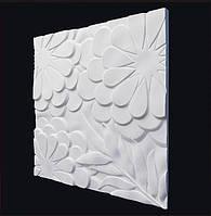 """Декоративные гипсовые 3D панели """"Ромашки"""""""