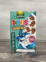 Детское печенье Gullon Dibus sharkies (без глютена, без лактоза, без яиц, без орехов) 250 грм
