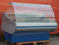 Холодильная витрина гастрономическая «Росс Siena ВПХТ 1.5-1.1» 1.5 м. (Украина), LED – подсветка, Б/у