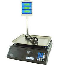 Торговые весы со стойкой Domatec MS-308 50 кг (200111)