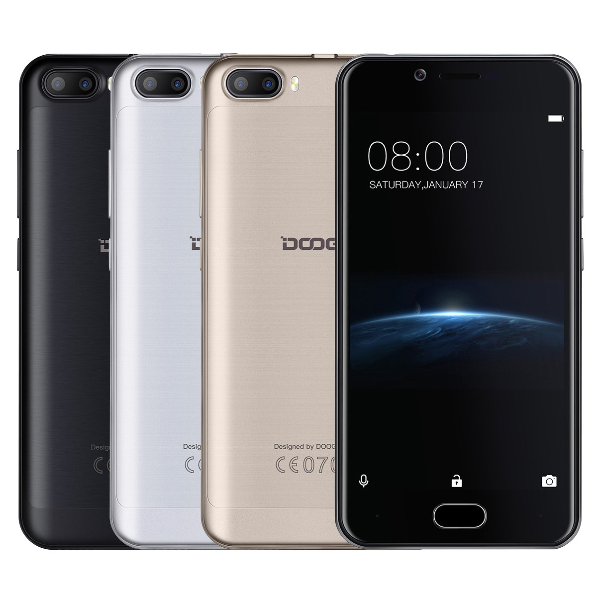 Смартфон Doogee Shoot 2 8Gb