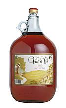 Итальянское Розовое Сухое Вино Vite d'Or Rosato, 11% (5 Литров)