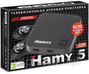 Игровая приставка двухсистемная 8-16 бит Hamy 5 (505 встроенных игр)