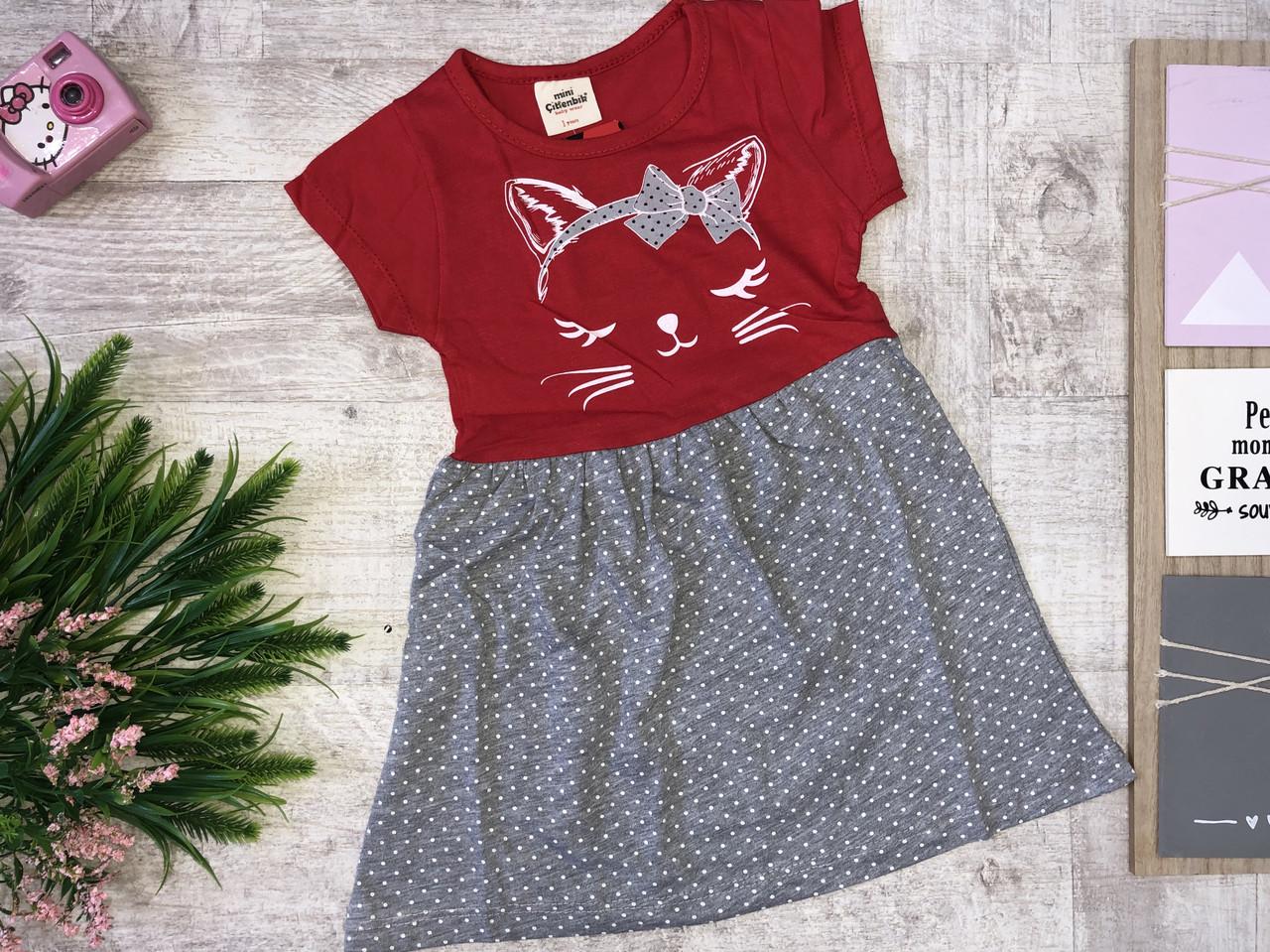 Детское платье 1-2-3-4-5 лет