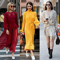 Стильные молодёжные платья весна-осень-зима с 42 по 48 размер