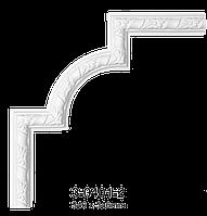 Угловой элемент Classic Home 3-0401-2 , лепной декор из полиуретана 346*346