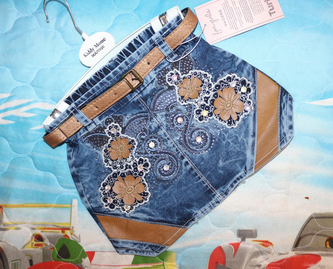 Джинсовая юбка 2,3,4,5 лет