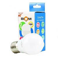 Светодиодная лампочка Biom LED E27 4W 3000K