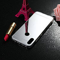 Чехол Mirror case для Xiaomi Redmi Note 7 / Note 7 Pro / Global силикон зеркальный металлик