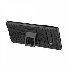 Противоударный двухслойный чехол Shield для Samsung Galaxy S10 с подставкой, фото 2